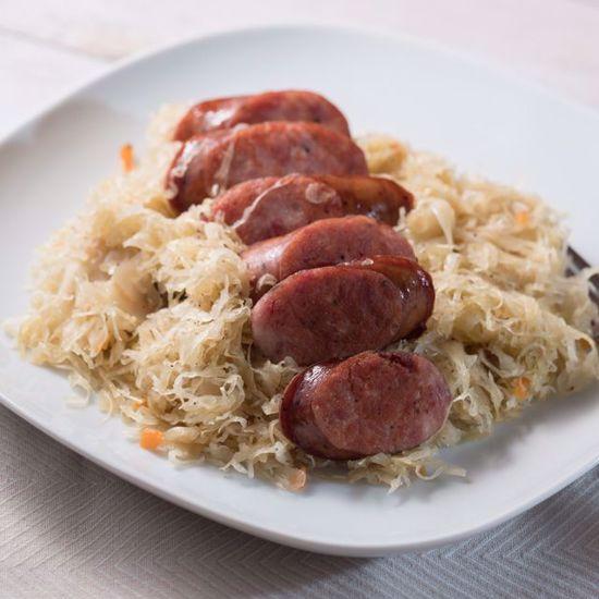 Sauerkraut with Kielbasy