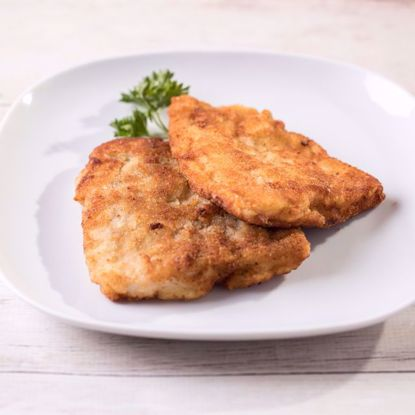 Fried Breaded Bass Fish