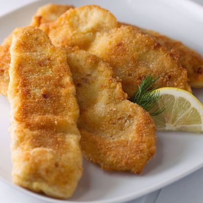 Fried Breaded Tilapia Fish