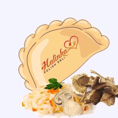 Sauerkraut & Mushrooms Pierogi